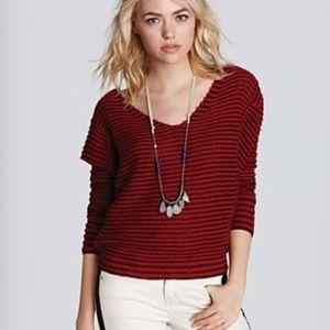 Free People Bumble Bee Striped Sweater